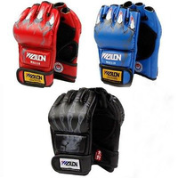 2014 NEW ! MMA boxing gloves / extension wrist leather / MMA half fighting Boxing Gloves/Competition Training Gloves H2123