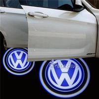 2X LED Car Door Welcome Light Laser Car Door Shadow led Projector Logo For VW Touareg/CC/Sharan/Passat