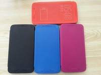 Free Shipping Hot Ultra Thin Dot View Matrix Mesh Flip Case Cover for Samsung Galaxy S5 i9600 G900