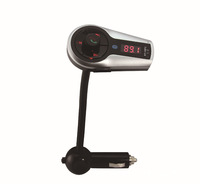 Bluetooth Handsfree Remote Control Car MP3 Player with FM Transmitter Support USB/TF Card AQC16