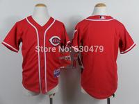 accept drop shipp. stitched cheap  Cincinnati Reds blank  youth/kid's   Baseball Jersey Jose Abreu baseball shirt