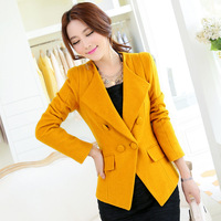 Free shipping U&Me 2014 Winter new Korean short paragraph Slim double-breasted wool coat woolen jacket wholesale women