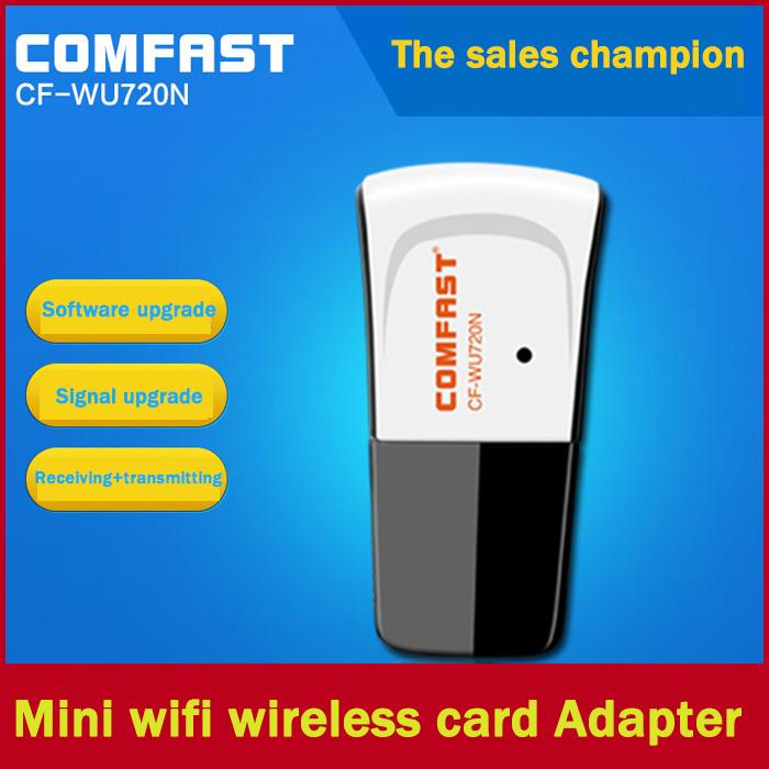 Mini USB 150Mbps 802.11n/g/b wifi Adapter wireless signal Receiver/Emitter WU720N(China (Mainland))