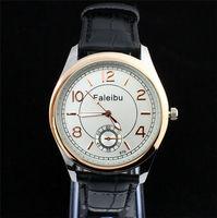 New Arrive Wholesale Top Quality Leather Strap Watch Men Fashion Sports Quartz Wrist Analog Watches