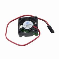 Wholesale 5pcs 30mm Dupont 2Pin 2 wire Black DC 12v 30x30x10mm Brushless Mini Cooling Cooler Fan