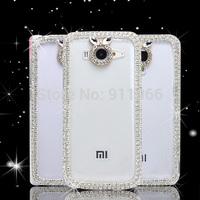 factory price rhinetsone case cover  FOR xiaomi mi3 mi2s hongmi mi3 DHL FREE SHIP
