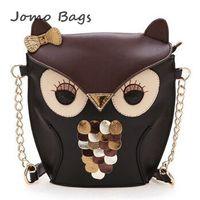 Top selling 2014 new fashion women leather handbag mini cartoon bag owl fox shoulder bags cross body women messenger bag z2886
