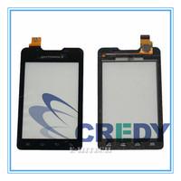 For Motorola Motosmart XT390 Black Digitizer Touch Screen Lens Glass Pad XT 390