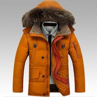 B 2014 Winter Men'S Fashion Brand Down Jacket Thickening Outdoor Use 90% Of To Minus 30 Degrees Down Jacket Warm Coat XXXL P78