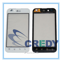 For LG P970 Optimus white Digitizer Touch Screen Lens Glass Pad Replacement P 970