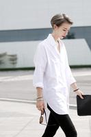 Women Cotton Oversize Shirt Long Sleeves White shirt Plus Size Loose blusas femininas Casual Boyfriend Blouse roupas blusa Tops