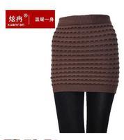 package buttocks skirts knit wool skirt mini Autumn Women Skirts