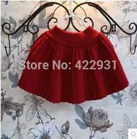 Free shipping new 2014 fashion children autumn and winter skirt girl short skirt fashion autumn short skirt winter short skirt