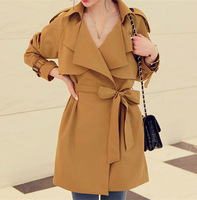 2014 New Arrival Women Autumn Winter Trench Free Shipping #C001