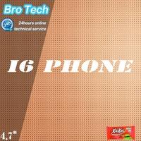 New arrival original LOGO  i6 phone 4.7inch MTK6582 Quad core 1GB RAM 16GB ROM Android 4.4.2  8MP  Camera smart phone
