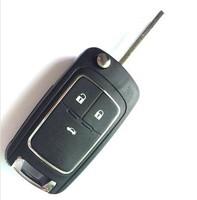 Flip Folding Key Case Keyless Entry Housing FOB for Chevrolet