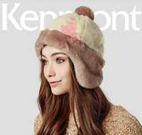 free shipping 2014 new Kenmont autumn winter women fashion Ear protection cap thickening beanies winter hat km-2380