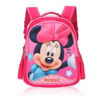 New Arrival School Backpack Cartoon Mickey Minnie School Bags High Quality Nylon Mochila Bagpack Free Shipping FR-143