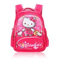 New 2014 Nylon School Backpack  Hello Kitty School Bags High Quality  Mochila Cartoon Bagpack Mix Design Free Shipping