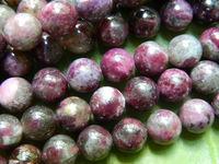 Wholesale  freeshipping  natural  10mm  pink tourmaline stone round loose beads