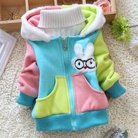 Hot High quality Children's outerwear & coats girls cute tutu clothing  kids hoodies coat Children clothes girls jacket HC055