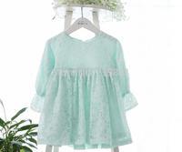 NEW ! 2014 autumn girls lace dress , princess dress girl, 5pcs/lot   BHL07