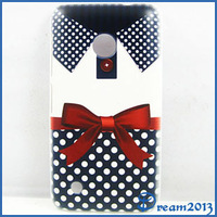 New Fashion Women Dress Pattern Blue Dot Red Bowknot Polka Dot Clothes Hard Case Back Cover Skin For Nokia Lumia 530
