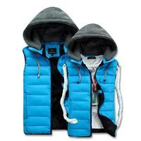 Wholesale 2014 vest jacket ,casual male candy color vest ,cotton vest outerwear jacket 9.2