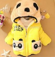 2014 Children's clothing baby girls long-sleeved jacket baby girl winter coat