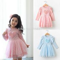 2014 autumn kids lace princess dress, tutu dress , 5pcs/lot   ZYZ01
