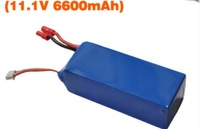 Walkera QR X350 PRO upgrade spare parts-Z-02 11.1V 6600MAH Li-po battery