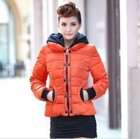 2014 Autumn Slim young ladies short paragraph coat ladies winter down coat big yards women padded jacket tide plus size