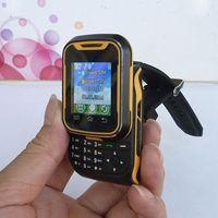 yellow T9 Unlocked Watch Phone Touch Screen+keys Quadband Slider mobile phone