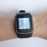 Black T9 Unlocked Watch PHONE Touch Screen+keys Quadband Slider mobile phone