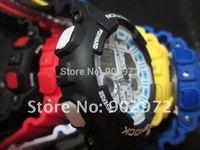 5% Discount New arrival  quartz watch fashion watch ga 100 watch,sports g watch ga 100 (Free shipping by HK post no shocked box)