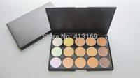 Factory Direct!60 Pieces/Lot New Professional Makeup 15 Colors Concealer Palette!