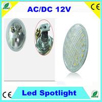 LED PAR36 8W led boat spotlight AC/DC12V 60pcs SMD5050 waterproof IP65 led garden light 120degree beam CRI >78Ra CE ROHS 50000H