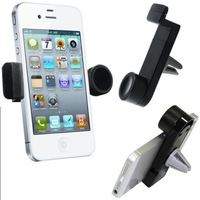 Portable Car Air Vent Travel Stand Phone Mount Holder For iPhone, Nexus, Samsung