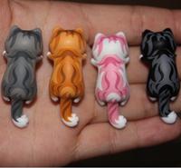 wholesale 100pcs /lot new 2015 new kpop shinee Sweet cheese cat Persian cat Animated cartoon dust plug cellphone dust cap