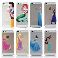 22 Style Promotions!Free shipping Fashion Plastic Material Cute Cartoon Pattern Hard Cover Case For Apple Iphone 5 5S 5G LC029