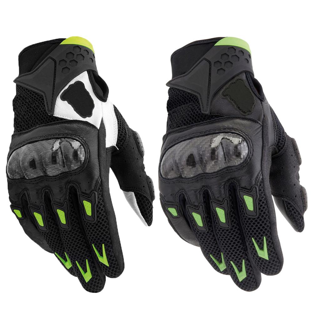 Guantes Luvas Para Carbon Fiber Motorcycle Gloves Downhill BMX ATV Off Road Fox Motocross Dirt Bike Bicycle Motorbike Glove(China (Mainland))