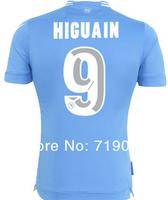 Italy Napoli Soccer Jerseys Higuain 13/14 New Army Military Green Blue Naples Football Shirt Hamsik Top thai quality Wear jersey