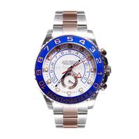 New Luxury Mens Watch Mechanical Watch Yacht-Master II Regatta Chronograph 44mm Everose Gold & Steel 116681