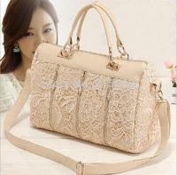 2014 New Lace Ladies Shoulder Hand Bag Women Handbag Girl Tote Messenger Bag