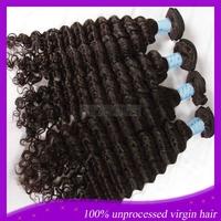 cheap brazilian hair extensions deep wave virgin hair mixed length 4pcs lot brazilian deep wave hair weft