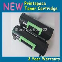 2x NON-OEM Toner Cartridge Compatible For Lexmark MX611 MX611de MX611dhe MX611dte( 2500 pages)