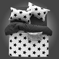 Zebra printed Plants long -staple cotton  bedding sets  Fashion bed set
