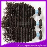 Hot selling brazilian deep wave virgin hair cheap brazilian mixed length 3pcs lot brazilian virgin human hair extension