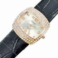 2014 New Rhinestone design Watches  Leather Quartz Watches gogo 904 Rhinestone Wristwatches Fashion Wristwatches Dropship