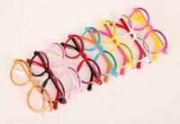 Free Shipping latest cartoon baby round frame eyewinker frames eyewear mix colors children fashion korea style decorate frame